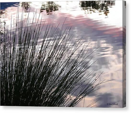 Summer Sunset Canvas Print by Karl Reid