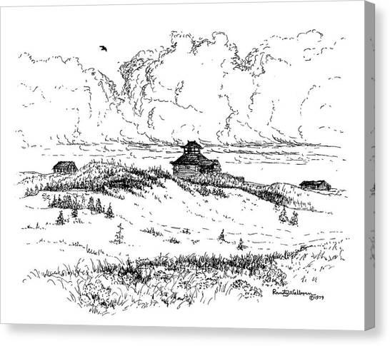Summer Thunderheads Canvas Print