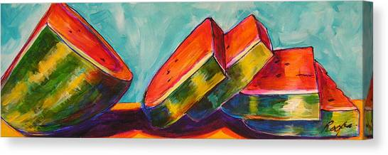 Summer Treat Canvas Print