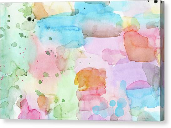 Fluids Canvas Print - Summer Wonder- Art By Linda Woods by Linda Woods