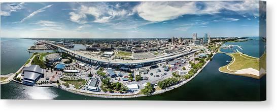 Summerfest Panorama Canvas Print