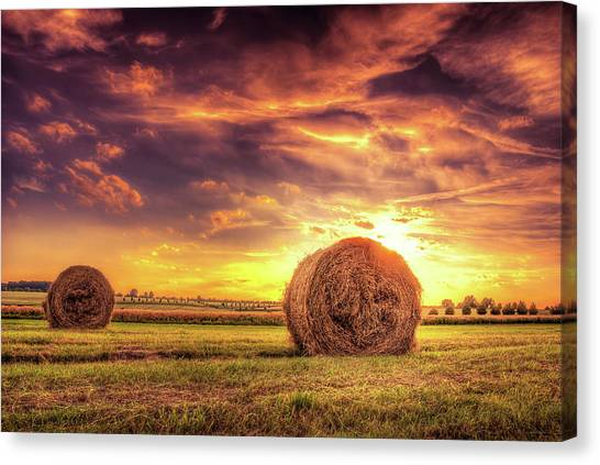 Abendrot Canvas Print - Summers End by Steffen Gierok