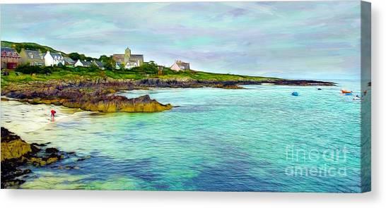 Summertime, Isle Of Iona Canvas Print