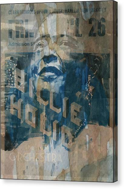 Rhythm And Blues Canvas Print - Summertime by Paul Lovering