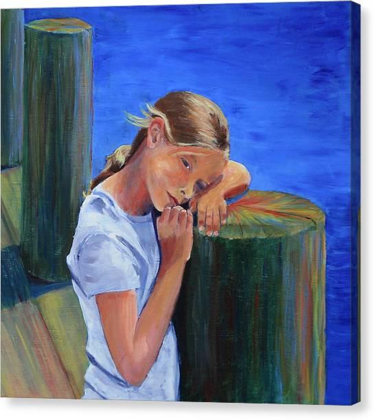 Summertime Sara Canvas Print