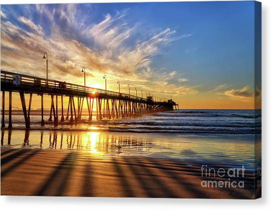 Sun And Shadows Canvas Print