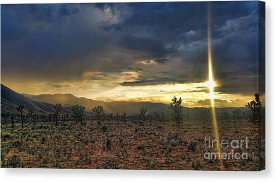 Sun Blade Canvas Print