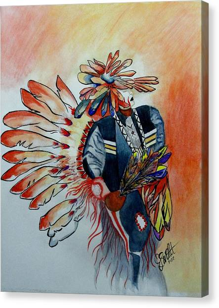Sun Dancer Canvas Print