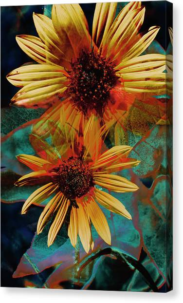 Sun Godess Canvas Print