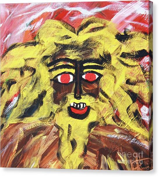 Sun Of Man Canvas Print
