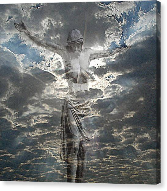 Sun Of Righteousness Canvas Print