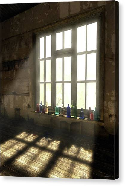 Derelict Canvas Print - Sun Patch by Cynthia Decker