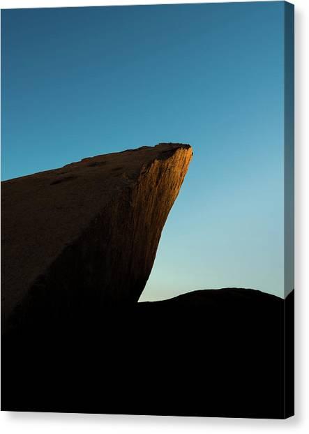 Mojave Desert Canvas Print - Sun Point by Joseph Smith