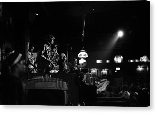 Sun Ra Arkestra At The Red Garter 1970 Nyc 21 Canvas Print