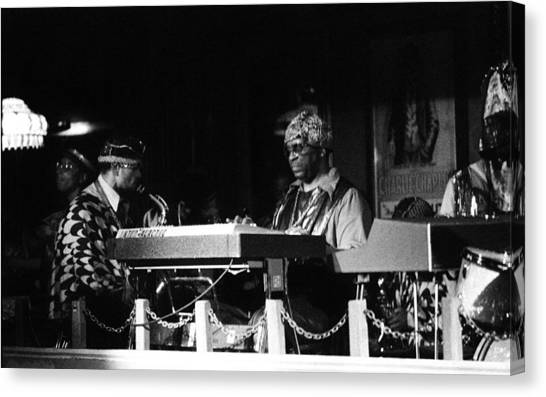 Sun Ra Arkestra At The Red Garter 1970 Nyc 31 Canvas Print
