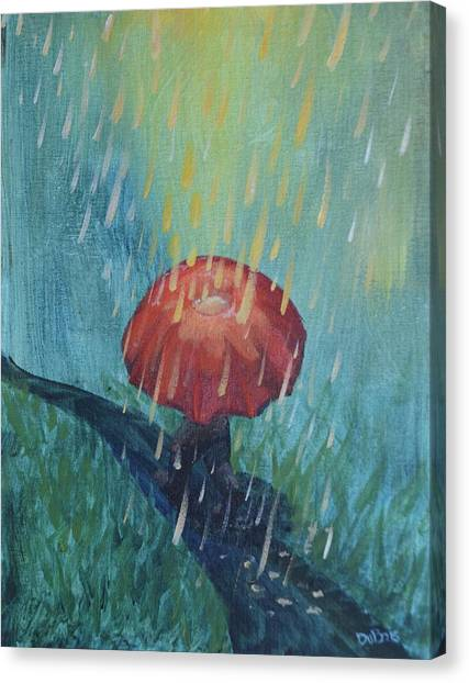 Sun Showers Canvas Print