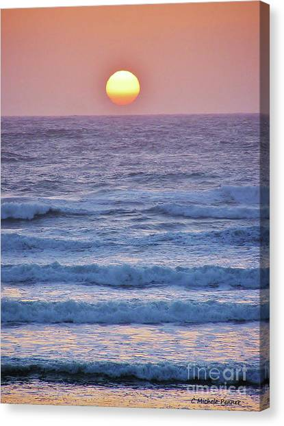 Sun To Sea Canvas Print
