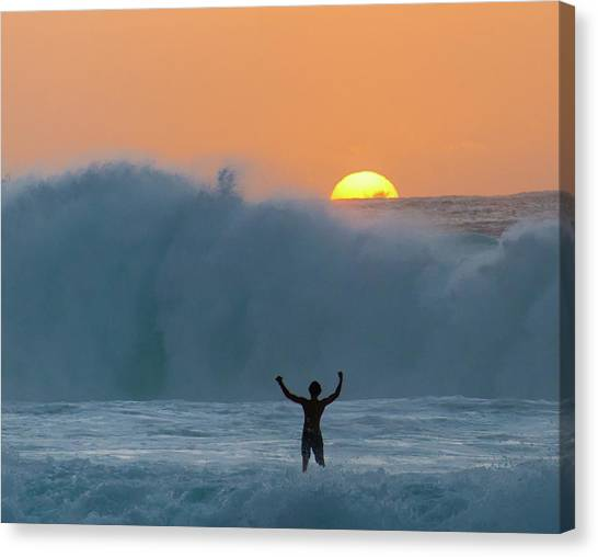 Sun Worship Canvas Print