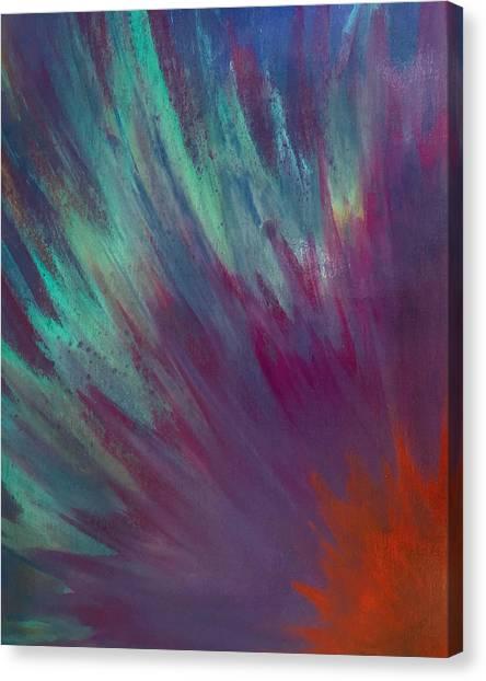 Sunburst Aura Canvas Print