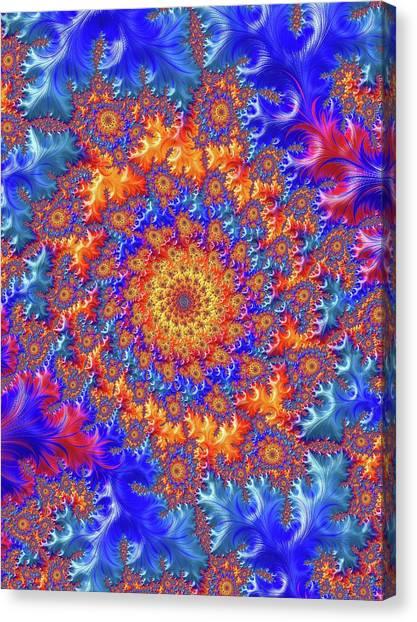 Sunburst Supernova Canvas Print