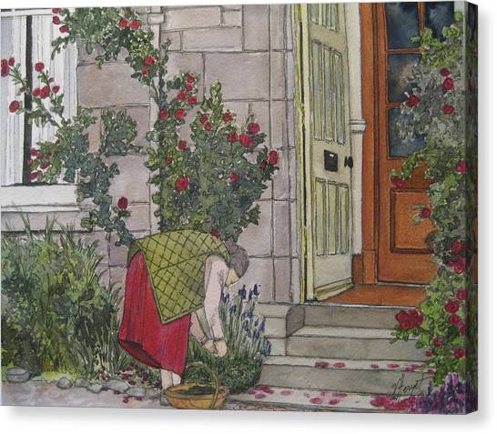 Sunday Afternoon St Andrews Canvas Print by Victoria Heryet