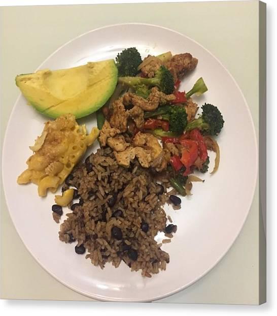 Oscars Canvas Print - Sunday Brunch Meal: #food #chef #sunday by Jose Rojas