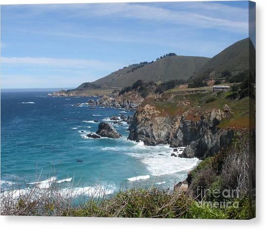 Sunday Drive - California Coast Canvas Print