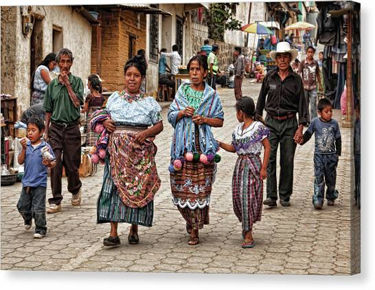 Sunday Morning In Guatemala Canvas Print