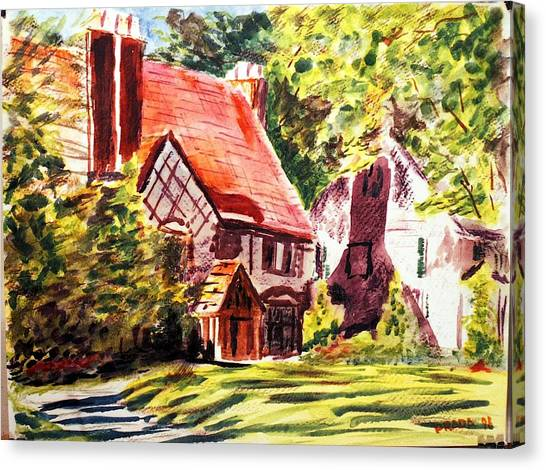 Sunday Morning On Forsyth Canvas Print by Horacio Prada