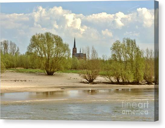 Sunday On The Rhine Canvas Print
