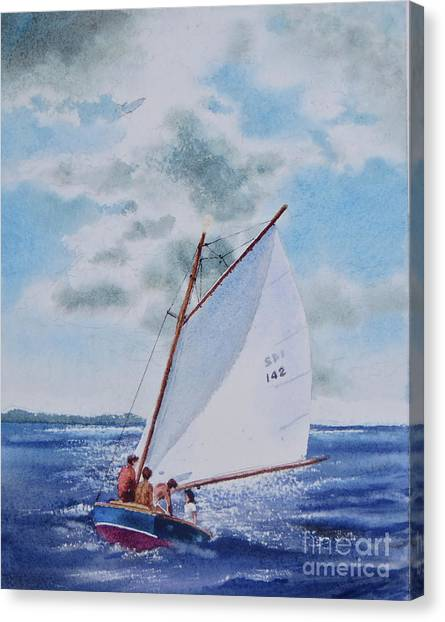 Sunday Sail Canvas Print