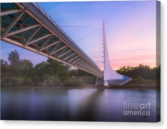 Sundial Bridge 6 Canvas Print