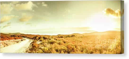 Rural Canvas Print - Sundown Bend by Jorgo Photography - Wall Art Gallery