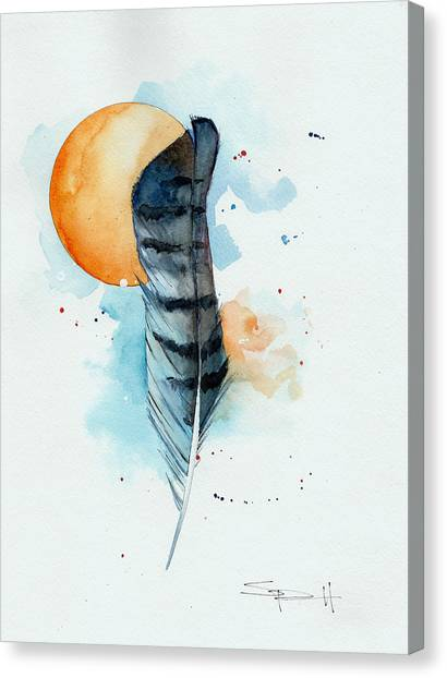 Sunfeather Canvas Print