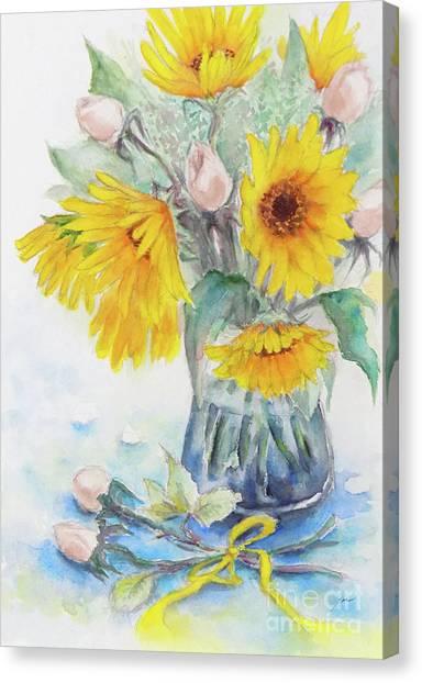 Sunflower-4 Canvas Print