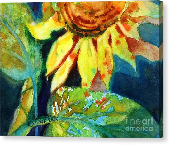 Sunflower Head 4 Canvas Print