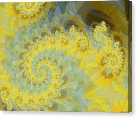 Sunflower Infused Canvas Print