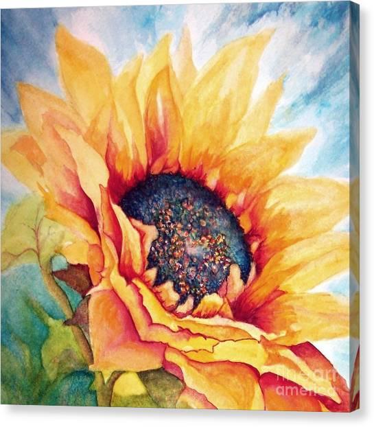 Sunflower Joy Canvas Print