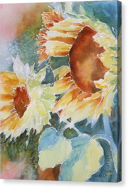 Sunflower Love Canvas Print