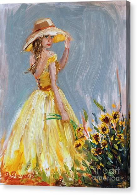 Sunflower Seduction Canvas Print
