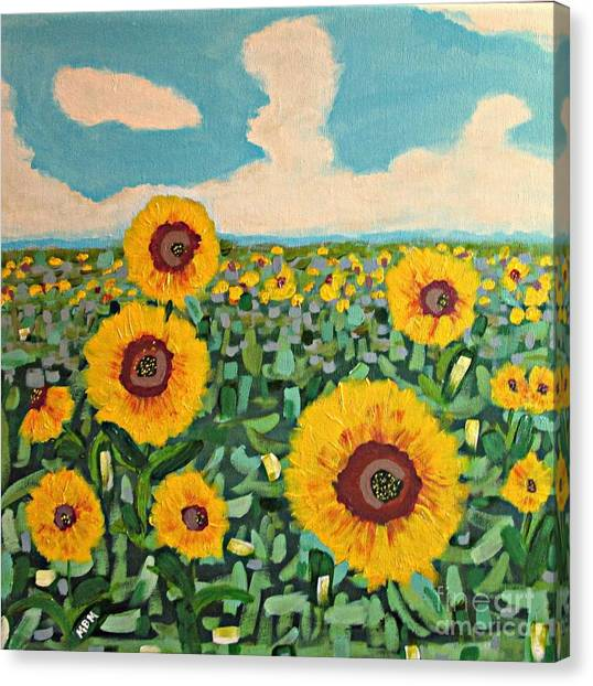Sunflower Serendipity Canvas Print