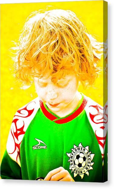 Sunflower Soccer Association Canvas Print
