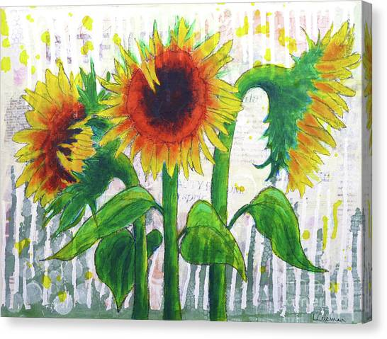 Sunflower Sonata Canvas Print