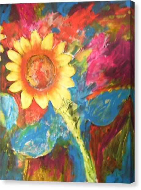 Sunflower Song Canvas Print