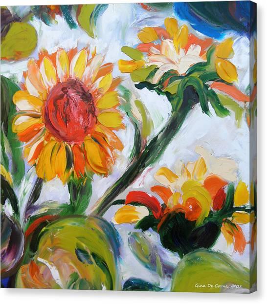 Sunflowers 5 Canvas Print