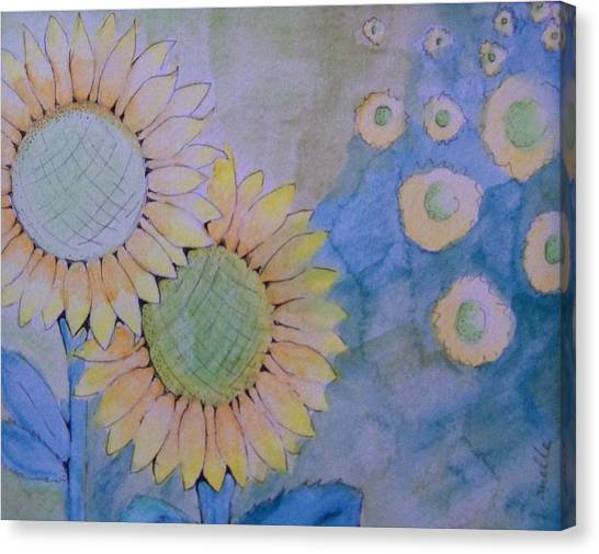 Sunflowers Canvas Print by Donielle Boal