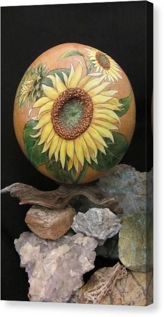 Sunflowers Gn41 Canvas Print