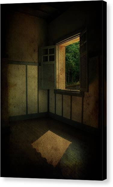 Sunlight Onto The Floor  Canvas Print by Valmir Ribeiro