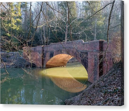 Sunlight Under Bridge Canvas Print
