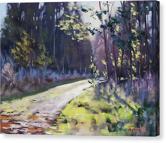 Traditional Canvas Print - Sunlit Bend At Sunny Corner by Graham Gercken